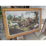 Голяма авторска картина масло - 1821