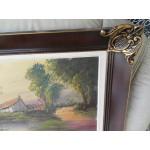 Малка барокова картина с подпис - 1838