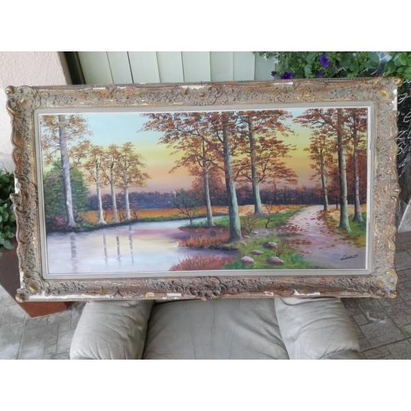 Голяма авторска барокова картина - 1843