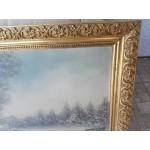Маслена картина с подпис от Холандия - 1784