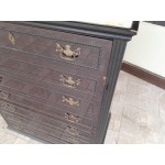 Висок комод с 7 чекмеджета и мрамор - 1482