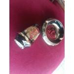 Гръцки пепелник и солница в бароков стил - 2490