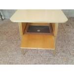 Малка помощна маса с долап за грамофон - 2492