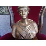 Месингов бюст на Атина Палада - 2371