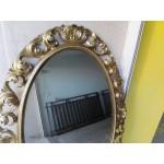 Голямо огледало барок от смола - 2395
