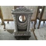 Масивна месингова колона за часовник - 1884