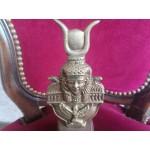 Масивен месингов пепелник от Египет - 2497