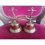 Месингови камбанки с декорация от месинг - 2499