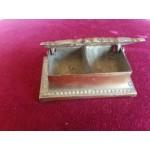 Малка месингова кутия за бижута или пръстени - 2502