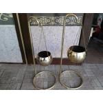 Алуминиеви цветарници от Испания със бронзово покритие - 2511