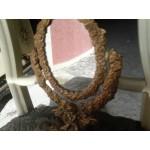 Страхотно месингово огледало с ангели от Гърция - 4160