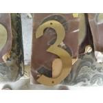 Огромни месингови цифри за врата от Германия - 4179