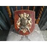Средновековен герб от бронз и алабастер - 1881