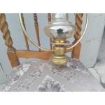 Месингов полилей еденица с опушено стъкло - 1897