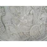 Огромно масивно пано от алабастър - 1899
