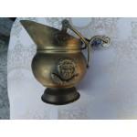 Медна ледарка с гербове  и порцелан - 1850
