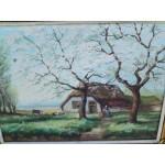 Авторска картина масло - 1853