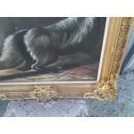 Голяма авторска картина масло барок - 1858