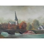 Голяма авторска картина масло - 1859