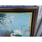 Прекрасна авторска картина масло - 1866