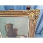 Стара маслена авторска картина - 1870