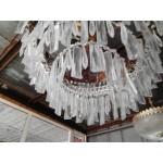 Огромен полилей скристали от месинг - 1806