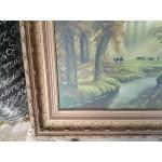 Много стара маслена картина - 1818