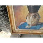 Уникална маслена картина барок - 1819