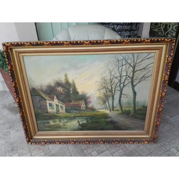 Огромна картина масло, барок - 1823