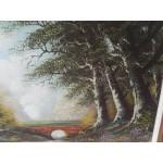 Голяма авторска барокова картина - 1835