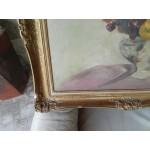 Много стара барокова картина масло - 1840