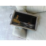 Ретро поднос с рисунки - 1763