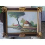 Стара картина масло - 1773