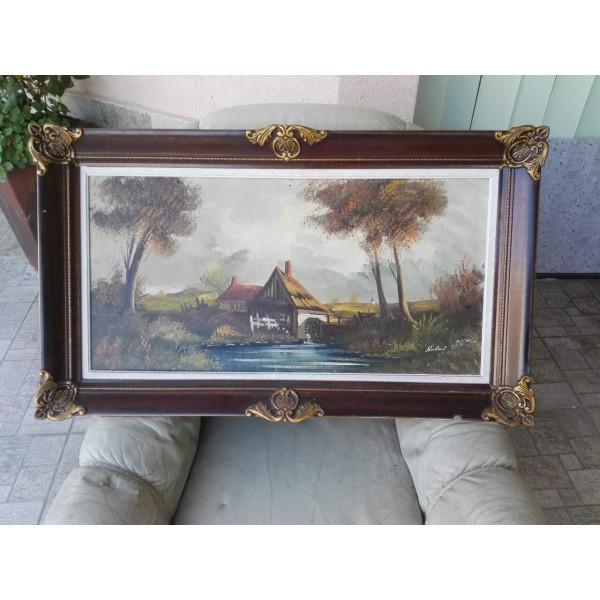 Голяма картина масло - 1776