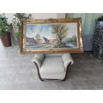 Маслена картина с подпис - 1791