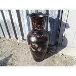 Голяма китайска ваза със седефи - 1712