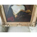 Старо платно Монахиня от Белгия - 1746