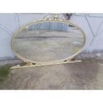 Голямо бароково огледало от бук с форма на елипса - 1601