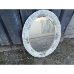 Малко венецианско огледало от повцелан - 1672