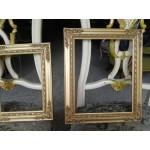 Сет картини барокови дървени рамки Испания - 4147