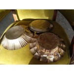 Сет от три посребрени купи Испания с много приложения - 4128