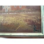 Сет от три картини масло на платно Испания, един автор, безупречни рамки - 4130