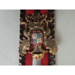 Испански герб с кама и основа - 2470