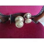 Месингови топки за врата в комплект с оригиналния механизъм - 2474
