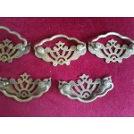 Широки месингови дръжки за скрин или шкаф - 2477