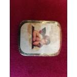 Малка ретро кутия за обеци от Германия - 2350