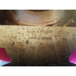 Работещ барометър и термометър поф форма на арфа,внос от Франция - 2340