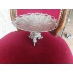 Посребрена английска купа за плодове или сладки - 2335