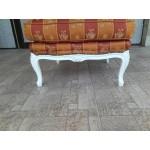 Бароков фотьойл в бяло - модел 1470
