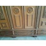 Голям Италиански трикрилен гардероб в бароков стил - Модел 1464